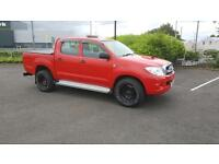 Toyota Hilux 2.5 D-4D HL2 2dr no VAT 2 KEYS, TOW BAR, STROBE LIGHT 2011