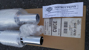 Harley Davidson Screaming Eagle Exhaust Pipes,