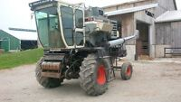 Gleaner F3 Combine and headers