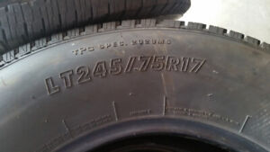 Tires off GMC 2500