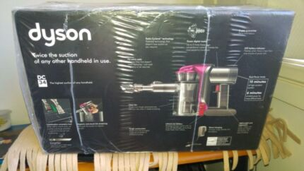 DYSON Cordless Vacuum DC34 BRAND NEW FACTORY SEALED AU MODEL! 45 Blacktown Blacktown Area Preview