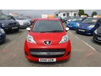 2011 Peugeot 107 Hatch 3Dr 1.0VTi 68 EU5 Sportium Petrol red Manual