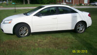 2005 Pontiac G6 WHITE Sedan