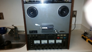 """For Sale"" TEAC A-3440 4 Channel Simul-Sync Vintage Reel To Reel"
