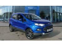 2017 Ford Ecosport 1.0 EcoBoost Titanium 5dr [17in]- Reversing Sensors, Voice Co