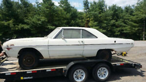 1968 DODGE DART TEXAS CAR ROLLING CHASSIS