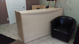 Reception Desk & Office Desks