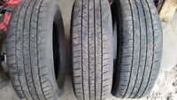 3 225/65 R16 GOODYEAR ALLEGRA TOURING $30 EACH
