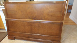 Antique Headboard/Footboard Double Bed
