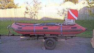 15.5ft Mercury Marine HD Inflatable w/30HP