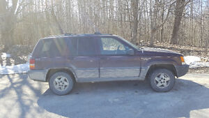 1995 Jeep Grand Cherokee Cheap As-Is Sale!!