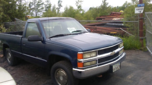 4x4 1995 chevy $1999 tax in transferred in your name.