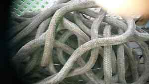 150 ft or more 2 1/2 inch rope .