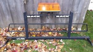 Back Rack with plow light