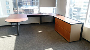 50 Desks, Tables, Cabinets and Credenzas from $50. Delivery.