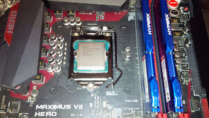 High Performance PC Parts. Motherboard, CPU, RAM (REDUCED)