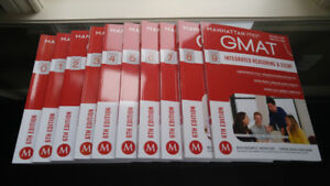 Manhattan Prep GMAT Strategy Guide Set - Brand New/Never Used