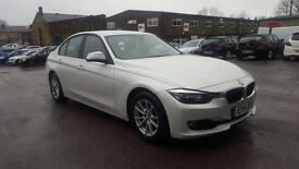 2014 BMW 320d AUTOMATIC++PEARL WHITE++ONE OWNER