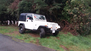 180km  Jeep  Yj  for sale or trade