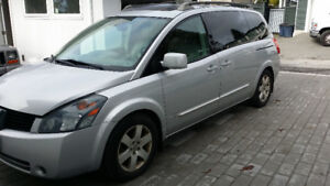 2005 Nissan Quest SE - only 90,000km  $5999 OBO