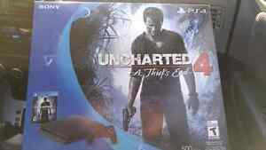 Selling New Sealed PS4 Slim with the game Uncharted 4