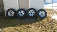 factory ford rims polished
