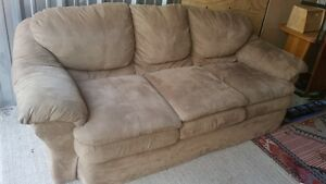 microfiber couch delivery included