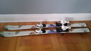 Youth Techno Pro Skis! Size 47 inch.