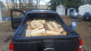 FIREWOOD STACKED AND DELIVERED