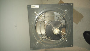 "Large 24""shutter fan for barns or stables/grosse fan de serre 24"
