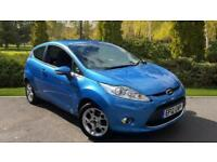 2012 Ford Fiesta 1.4 Zetec 3dr Manual Petrol Hatchback