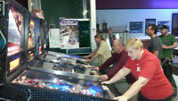 Play pinball in London at Strokers Billiards