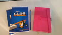 Club Penguin sketchbooks and journal