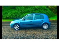 Renault Clio Campus 1.2 ( 2007 ) July MOT, Very Clean Cheap Car