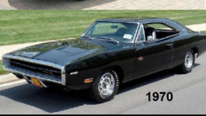 WANTED  1969 to 1972 B-body Mopar charger coronet satellite