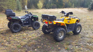 2 ATVs for sale