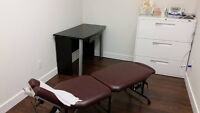 Treatment Rooms /  Offices for Rent for Chiropractors / NDs