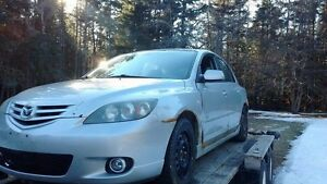 04 Mazda 3 for parts!!