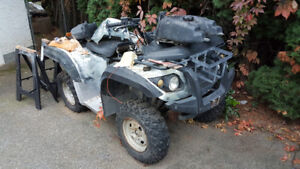PARTING OUT CHINEESE ( I THINK HISUN ) 500CC ATV.