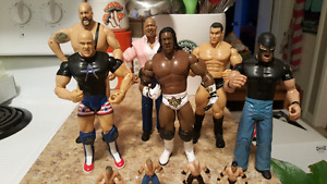 Various WWE Wrestling Action Figures