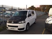VW T5 9 SEATER ALSO BED