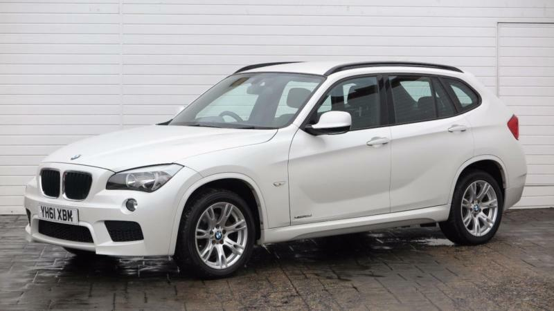 2011 bmw x1 2011 61 bmw x1 2 0d x drive 18d m sport diesel white manual in middlesbrough. Black Bedroom Furniture Sets. Home Design Ideas