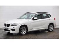 2011 BMW X1 2011 61 BMW X1 2.0D X Drive 18D M Sport Diesel white Manual