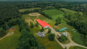FOR SALE: ESTABLISHED EQUESTRIAN FACILITY NEAR GUELPH