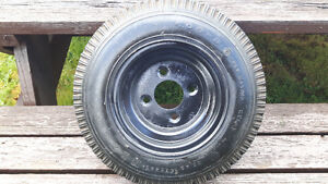 Trailer tire North Shore Greater Vancouver Area image 2
