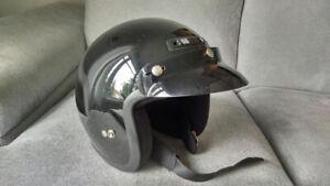 Casque moto/Vtt noir