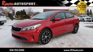 CERTIFIED 2017 KIA FORTE LX - ONLY 31K - BLUETOOTH  - YORKTON