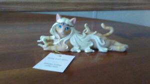 Collection de 5 Statues Devine Feline (Hamilton Collection)