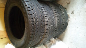 2 sets of winter tires Kitchener / Waterloo Kitchener Area image 5