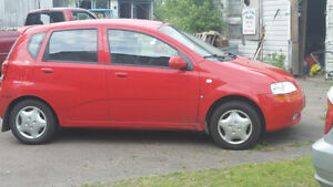 2007 Chevrolet Aveo Great Hatchback